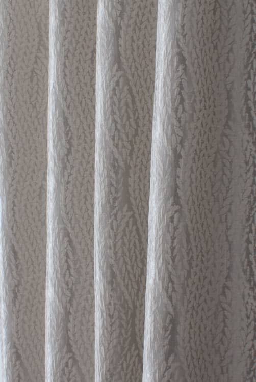 Willen Silver Curtain Fabric