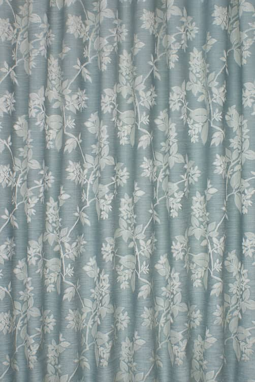 Cosima Duck Egg Roman Blinds