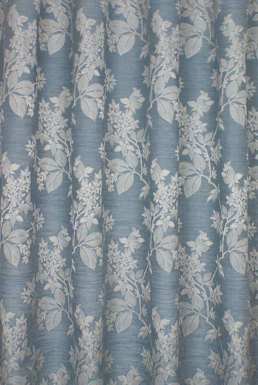Cosima Sky Curtain Fabric
