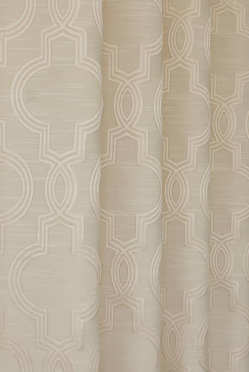 Aspen Cream Made to Measure Curtains