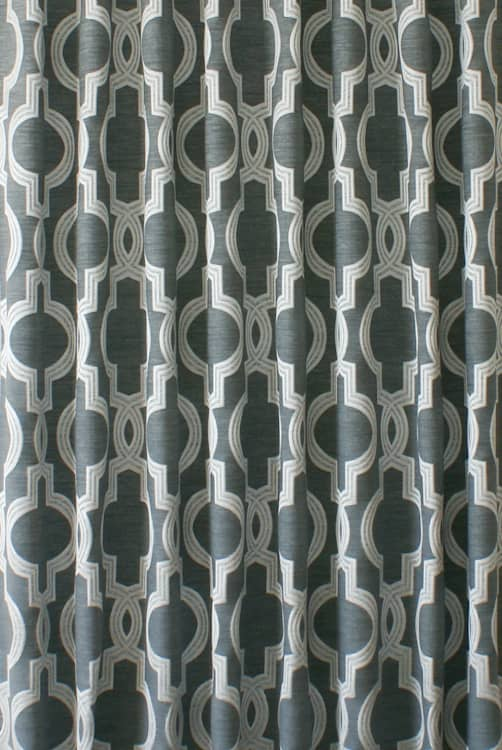 Aspen Silver Made to Measure Curtains