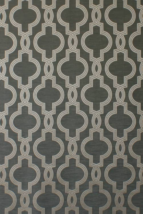 Aspen Slate Curtain Fabric