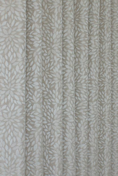 Hawthorne Taupe Curtain Fabric