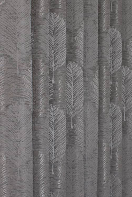 Elm Slate Curtain Fabric