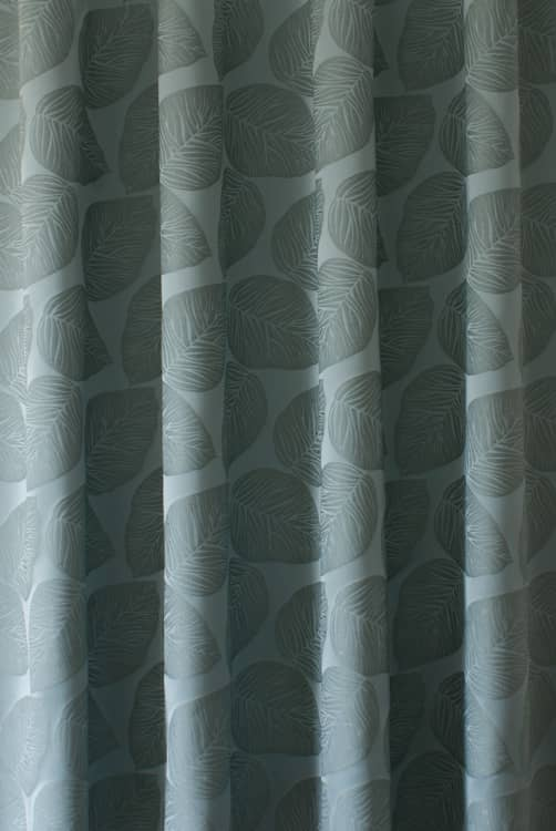 Hanna Teal Curtain Fabric