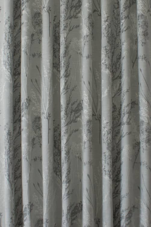 Keshiki Chrome Curtain Fabric