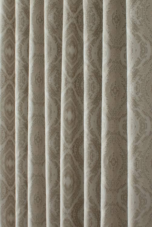 Adonis Coin Curtain Fabric