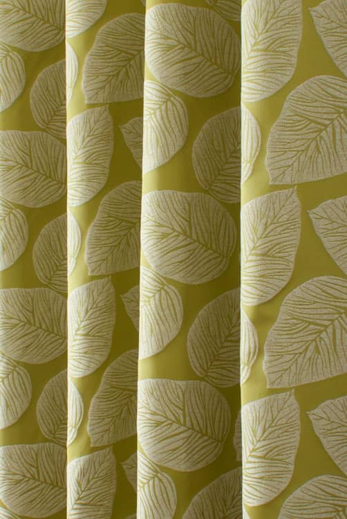 Hanna Eucalyptus Curtain Fabric