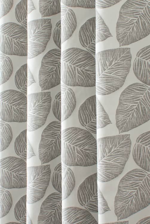 Hanna Chrome Curtain Fabric