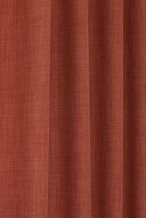 Linoso Paprika Curtain Fabric