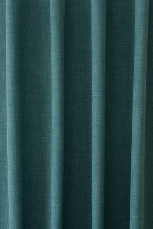 Linoso Teal Curtain Fabric