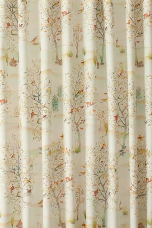 Coppice Cream Made to Measure Curtains