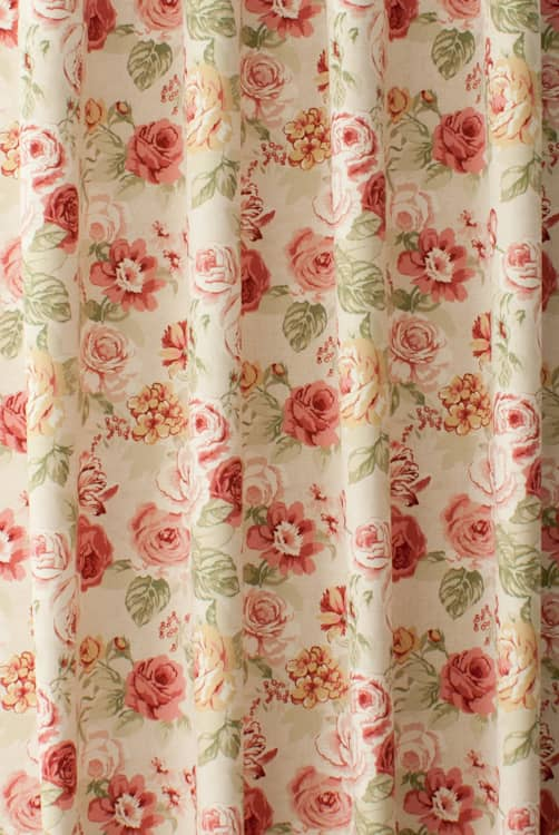 Genevieve Old Rose Roman Blinds