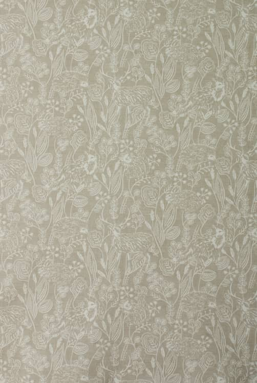 Westleton Taupe Curtain Fabric