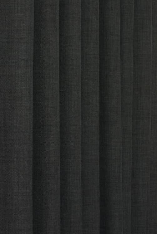 Linoso Charcoal Made to Measure Curtains