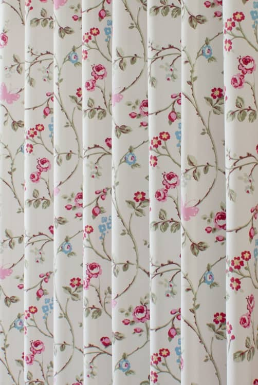 Bird Trail Grey Made to Measure Curtains