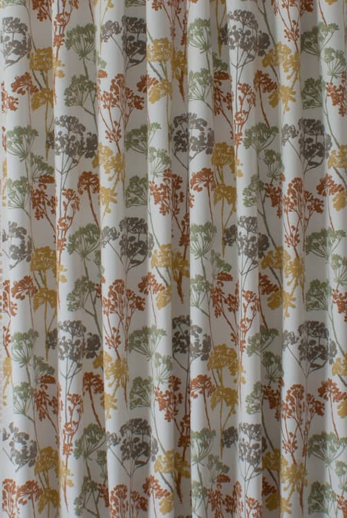 Dunwich Autumn Curtain Fabric