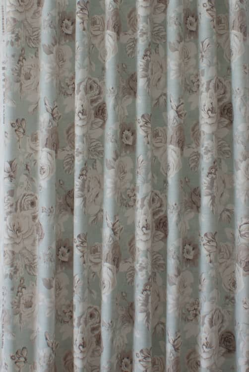 Genevieve Mineral Curtain Fabric