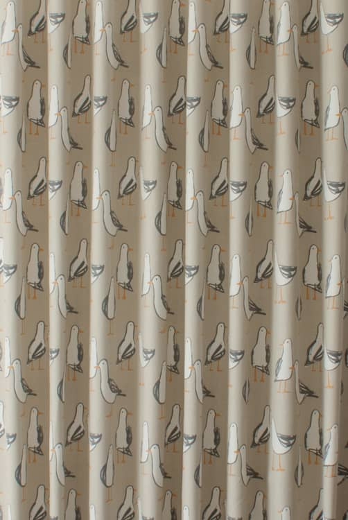 Laridae Taupe Made to Measure Curtains