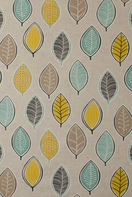 Coco Chartreuse Roman Blinds