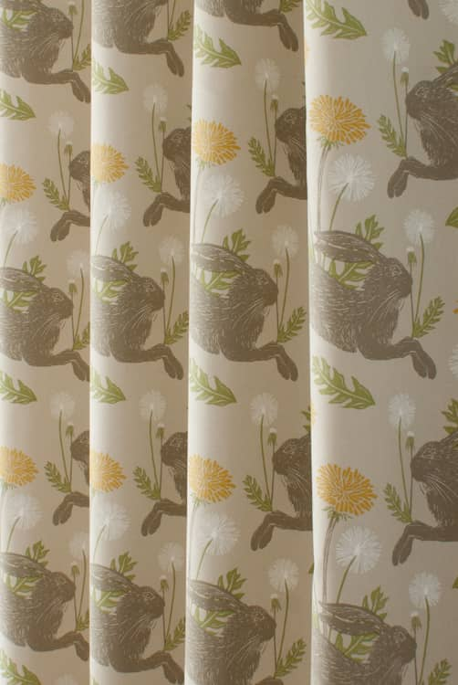 March Hare Linen Curtain Fabric