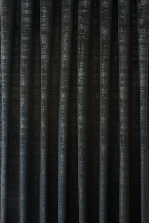 Dakota Velvet Raven Curtain Fabric