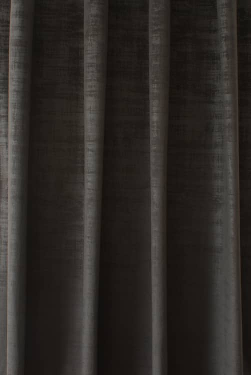 Dakota Velvet Slate Curtain Fabric