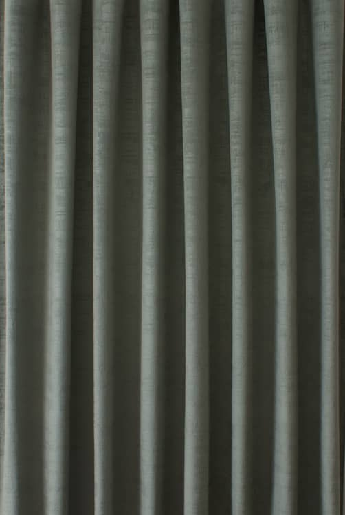 Dakota Velvet Willow Curtain Fabric