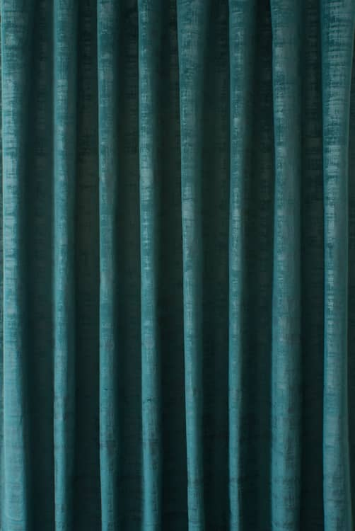 Dakota Velvet Peacock Curtain Fabric