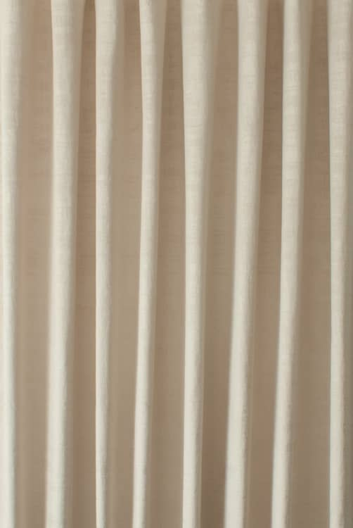 Dakota Velvet Sesame Curtain Fabric