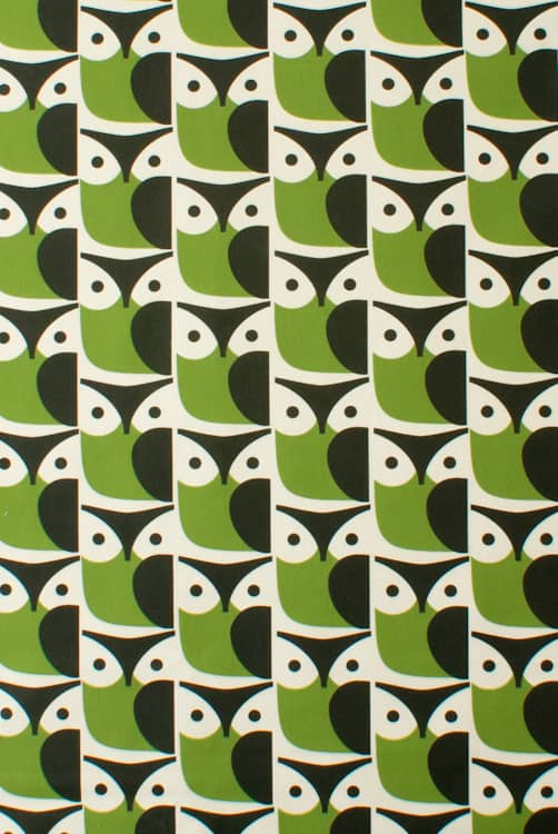 Owl Chalky Green