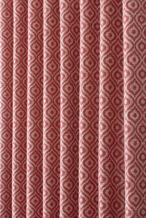 Austin Ruby Curtain Fabric
