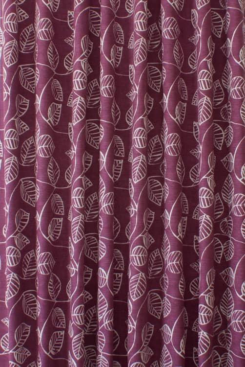 Caracas Very Berry Made to Measure Curtains