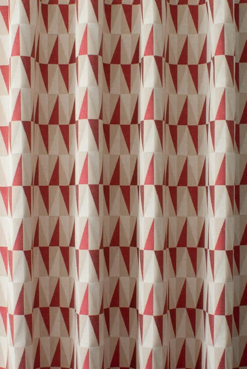 Crawford Ruby Curtain Fabric