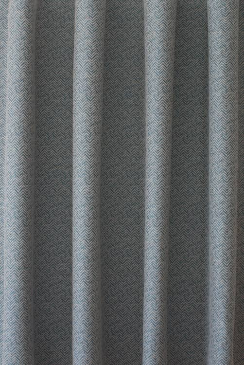 Brook Teal Curtain Fabric