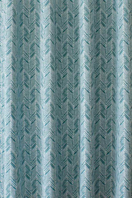 Daphne Teal Roman Blinds