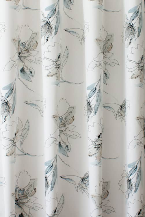 Tallulah Seashore Roman Blinds