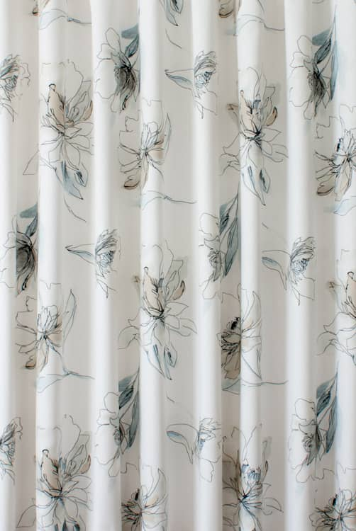 Tallulah Seashore Curtain Fabric