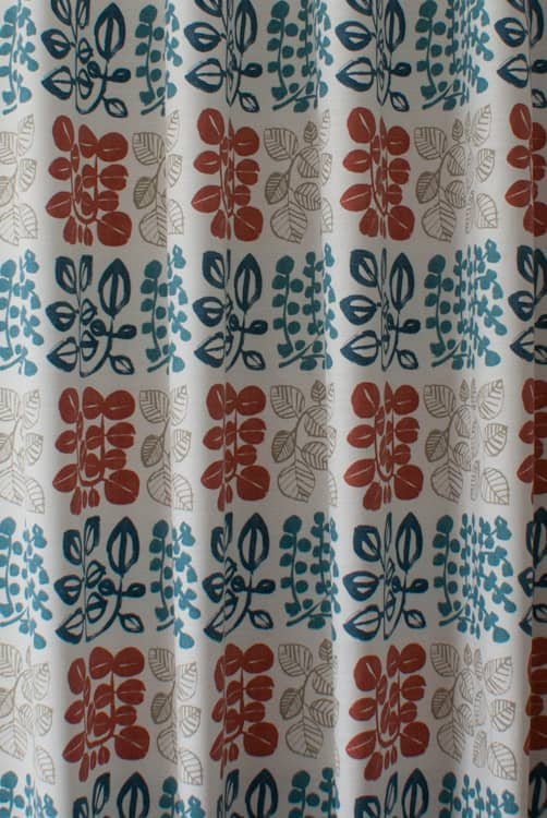 Cuba Coral Reef Curtain Fabric