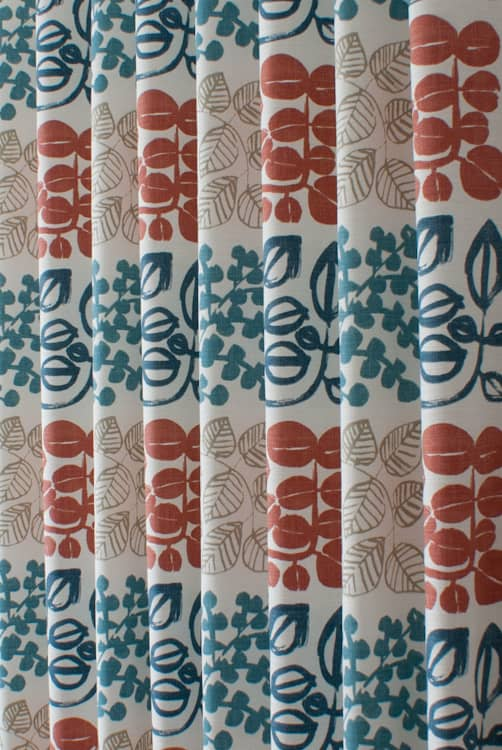 Cuba Coral Reef Made to Measure Curtains