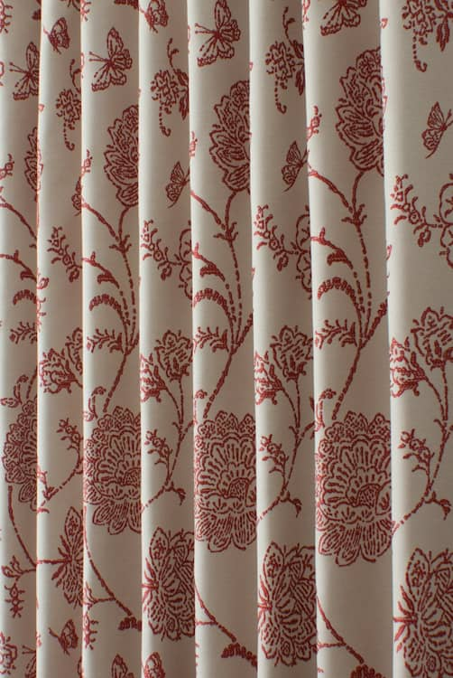 Fielding Scarlet Roman Blinds