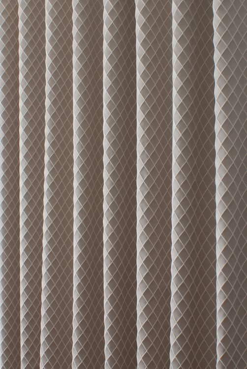 Diamond Champagne Curtain Fabric