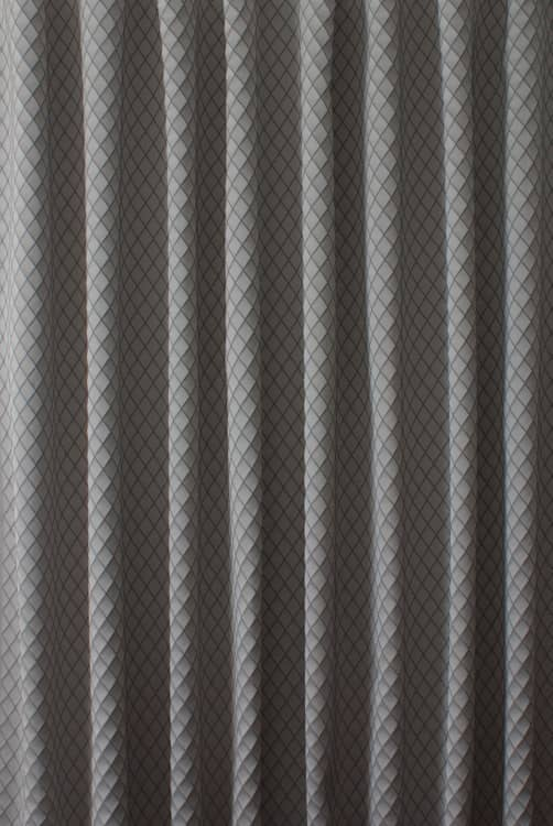 Diamond Steel Curtain Fabric