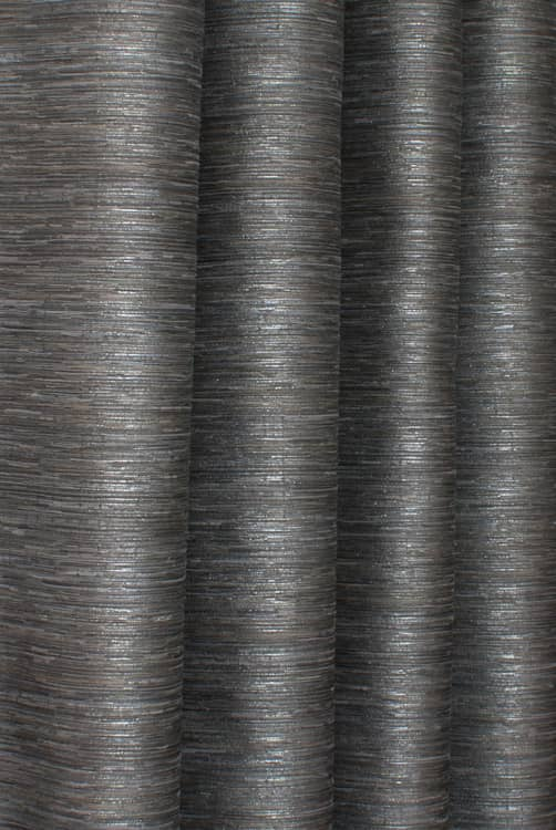 Shimmer Graphite Curtain Fabric