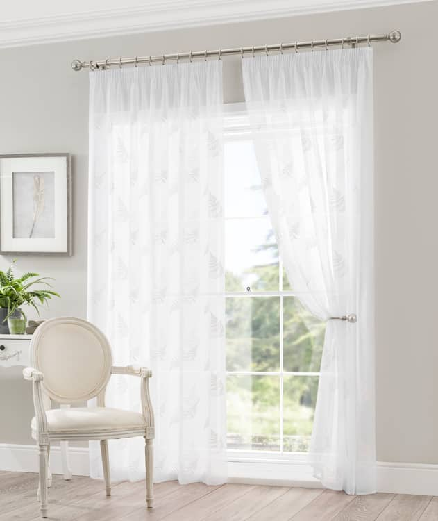 Fauna White panels Voiles & Voile Panels