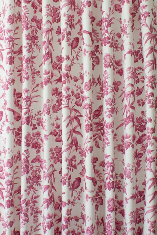 Amelia Raspberry Made to Measure Curtains