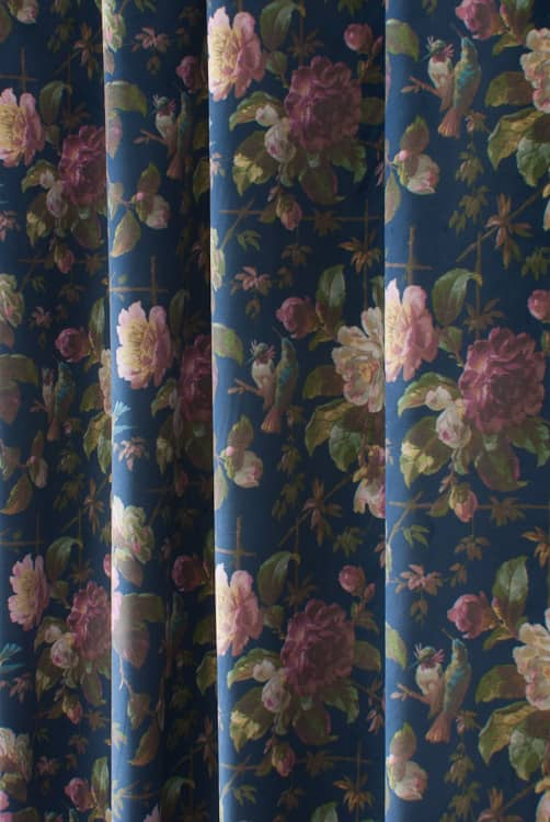Renaissance Velvet Midnight Made to Measure Curtains