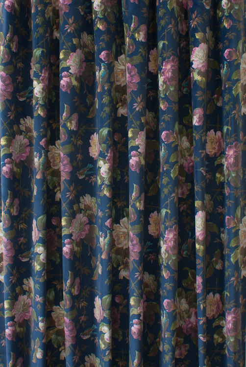 Renaissance Velvet Midnight Roman Blinds