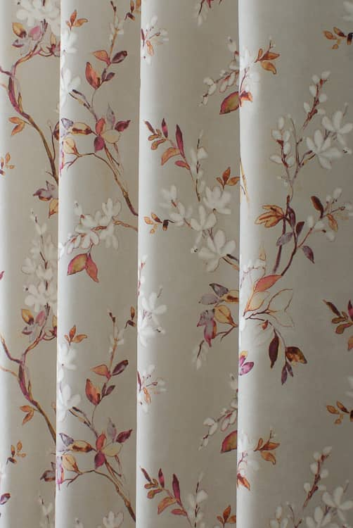 Florence Coral Roman Blinds
