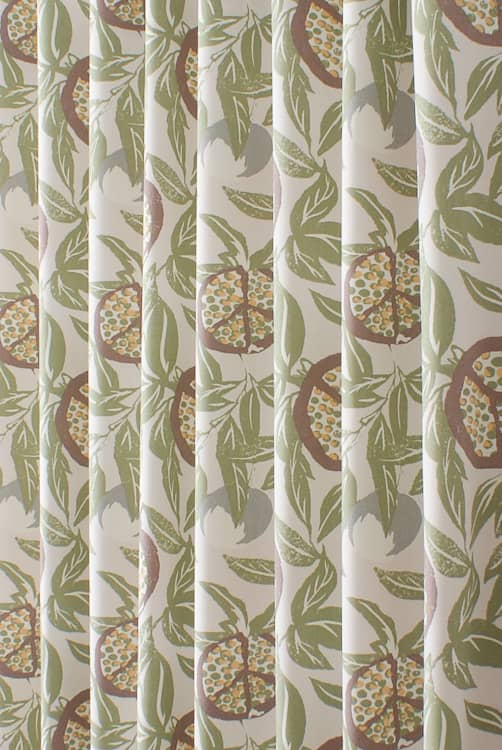 Sanson Olive Made to Measure Curtains